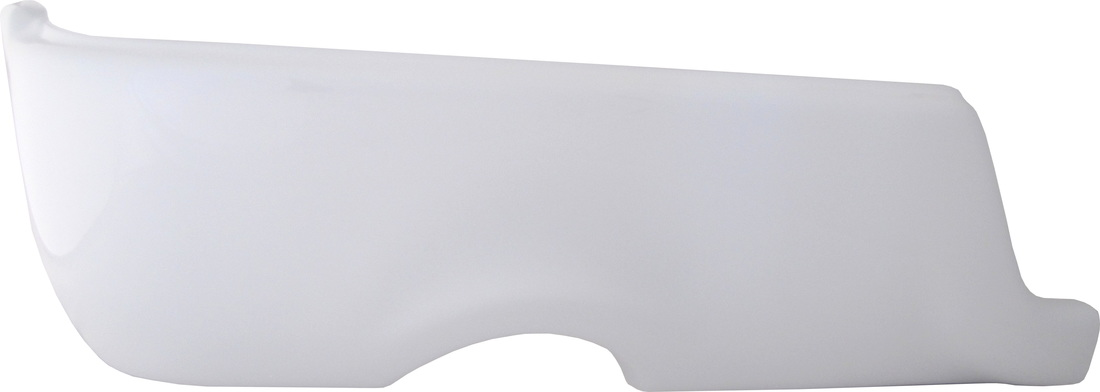 Gloss White BumperShellzRam truck bumper covers covers