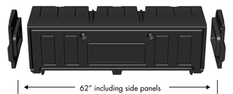 AeroBox Premium Truck Bed Box