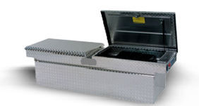 Conventional truck bed box