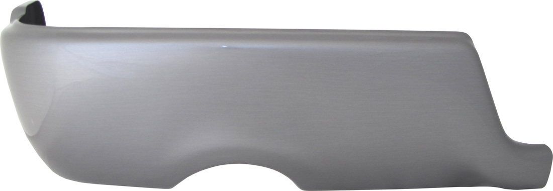 Brushed Metal Ram Truck Bumper Covers