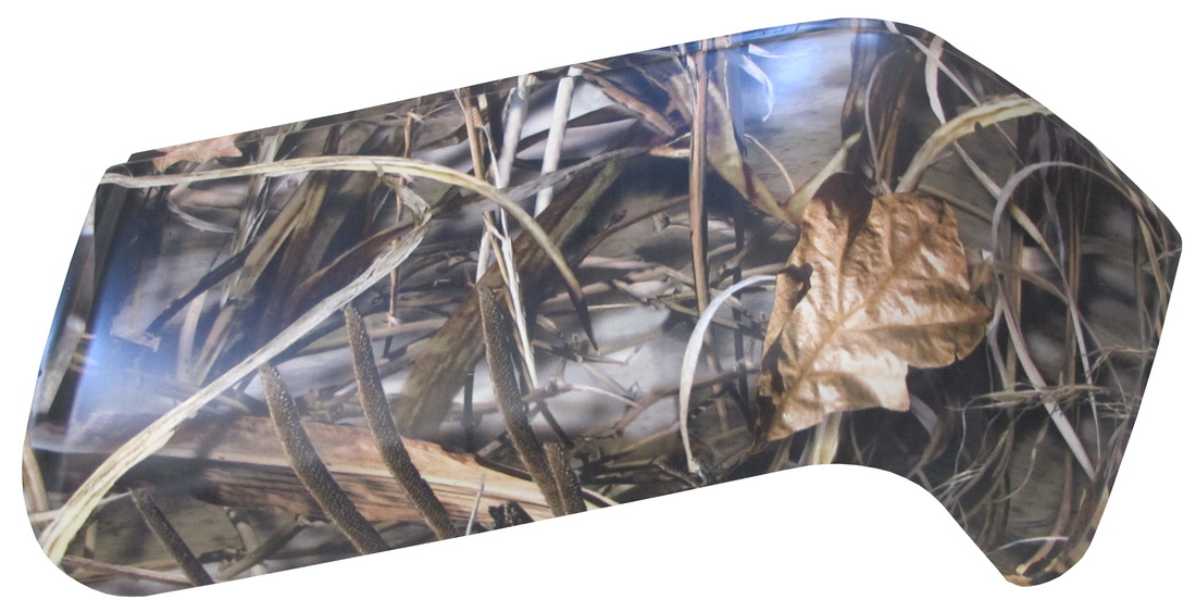 RealTree Max4 camouflage truck bumper cover