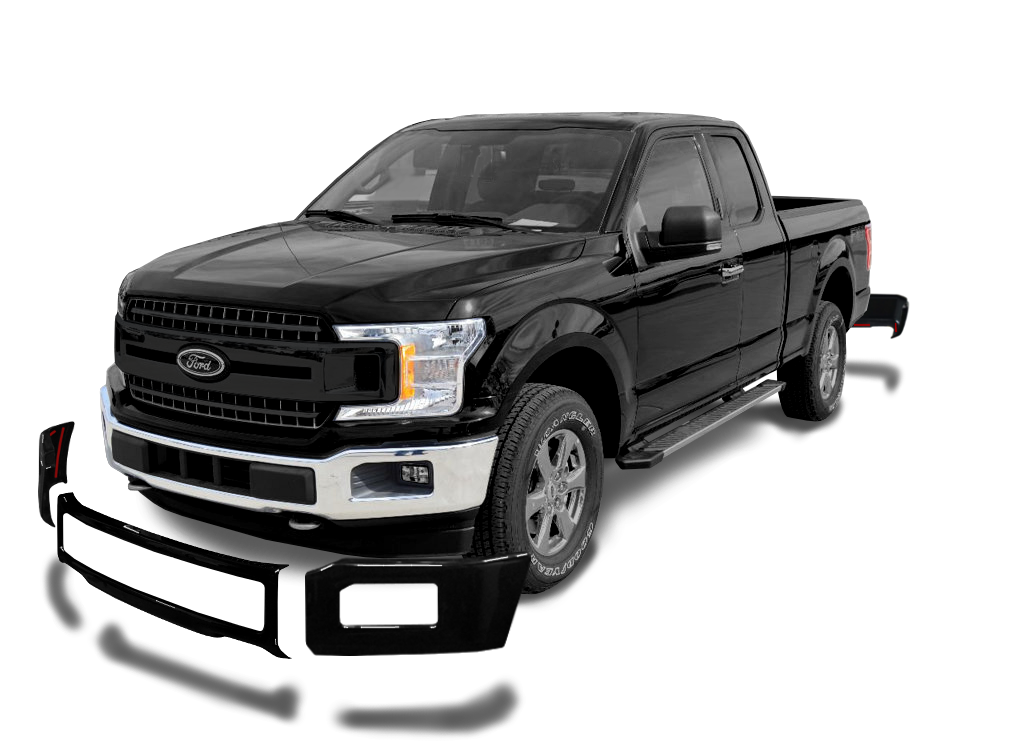 2018 2020 F150 Front Bumpershellz Bumper Covers Overlays