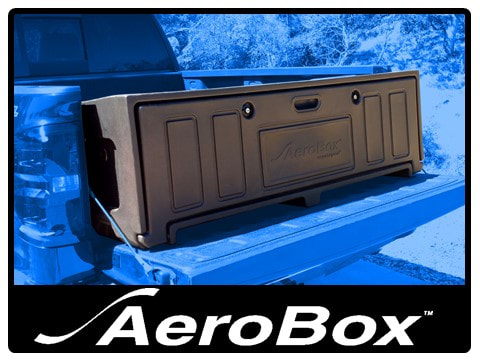 AeroBox - Rear Mounted Truck Bed Cargo and Tool Box