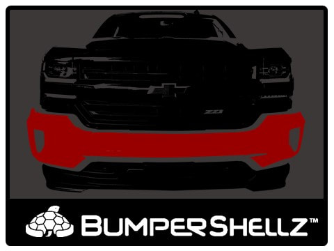 BumperShellz - truck bumper covers to cover dents, rust, and chrome